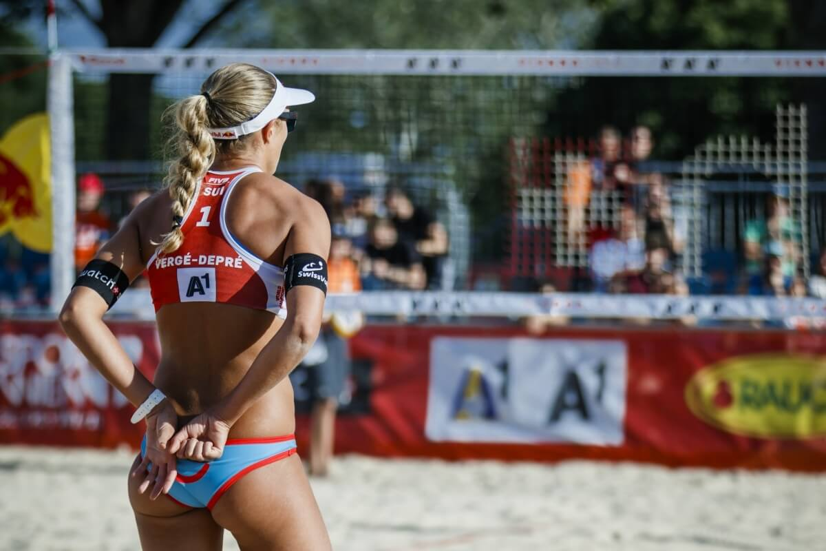 Why is women's beach volleyball clothing sexy and men's not?