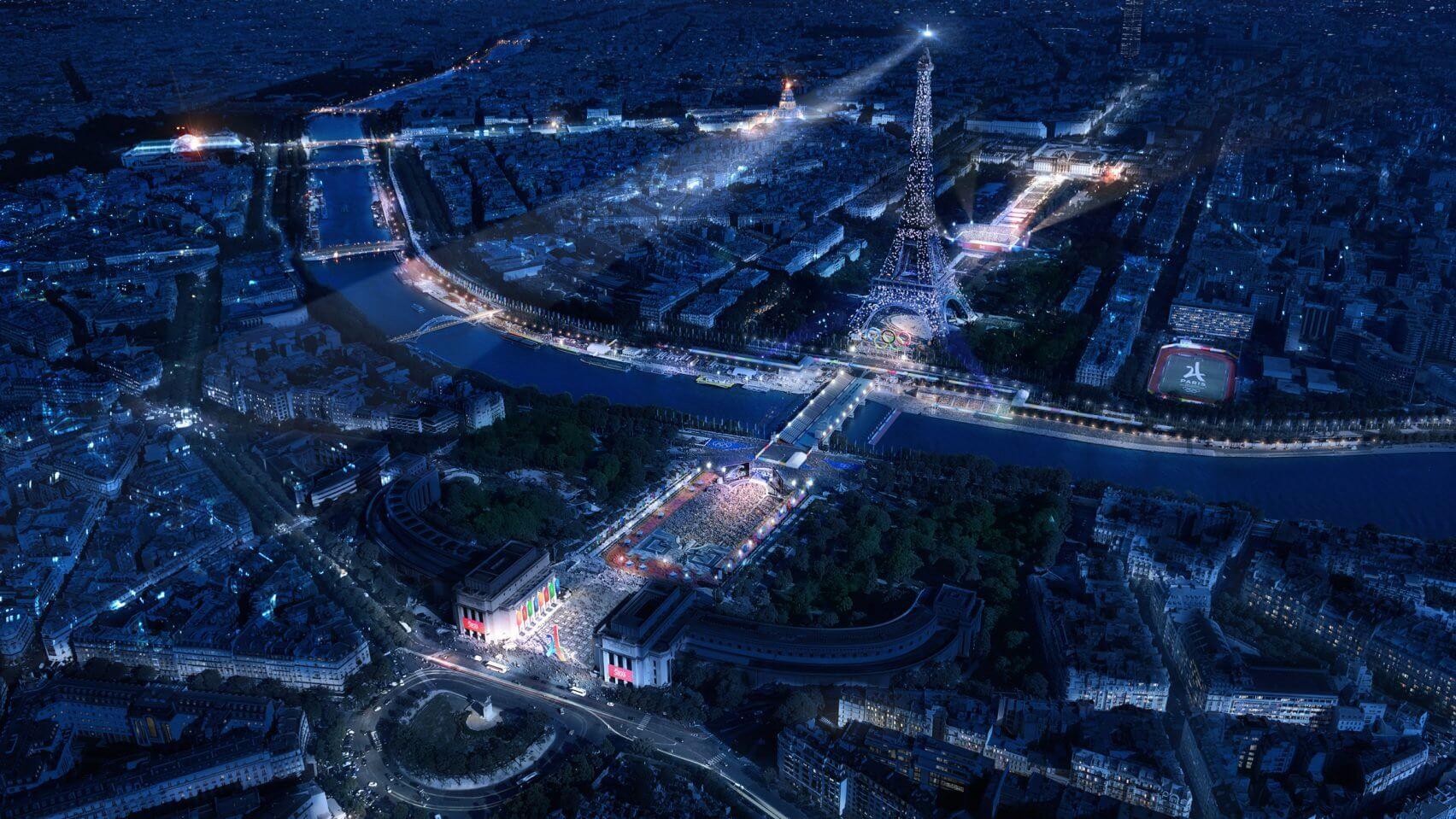 Masterplan Paris 2024 approved – Beach Volleyball next to Eiffel Tower