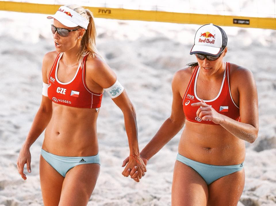 "Marketa Slukova and Barbora ""Bára"" Hermannová"