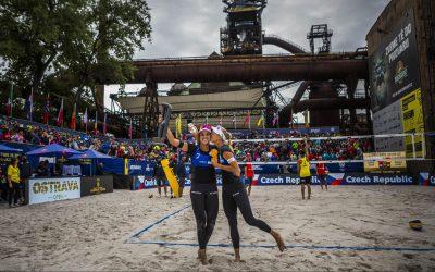 Slukova/Hermannova win Ostrava 4-star event in front of home crowd