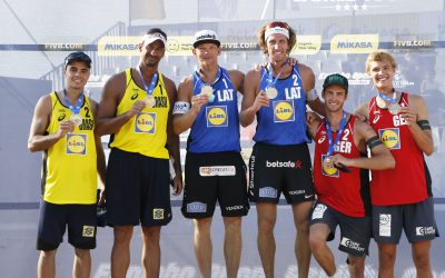 Smedins and Samoilovs win Espinho Open – First 4-star gold for Artacho and Clancy