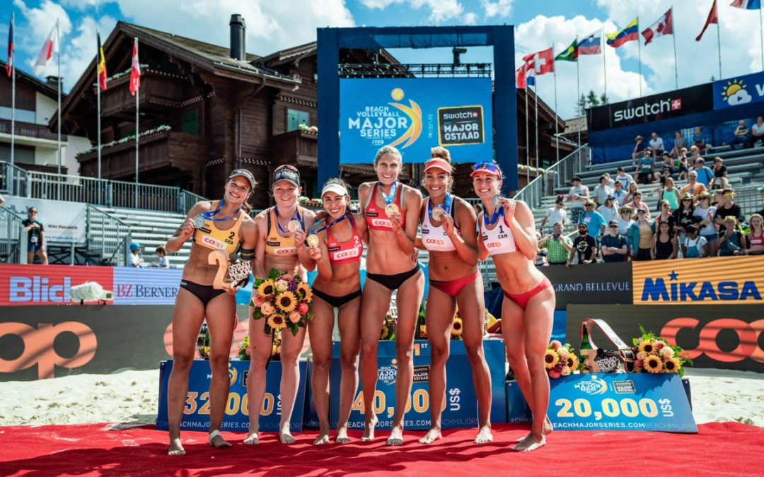 Canadian women dominate Gstaad Major – Japan challenges top teams