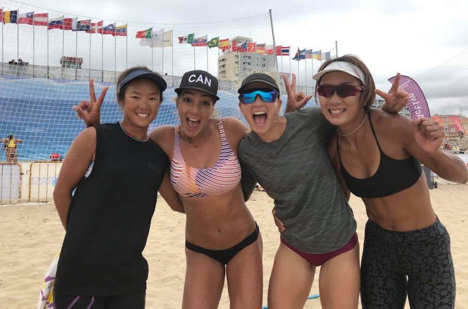 Megumi Murakami, Brandie Wilkerson, Heather Bansley, Miki Ishii