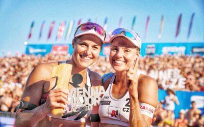 Czech beach girls win their first Major gold after rough start in the final