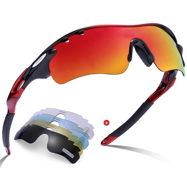 Surprisingly good: cycling sunglasses for beach volleyball