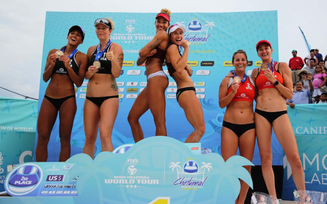 "Bansley/Wilkerson win ""North American Championship"" in Mexico–Brandie's humor pulls crowd on Canadian side"