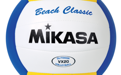 The budget option: Mikasa VX20 Beach Classic Volleyball