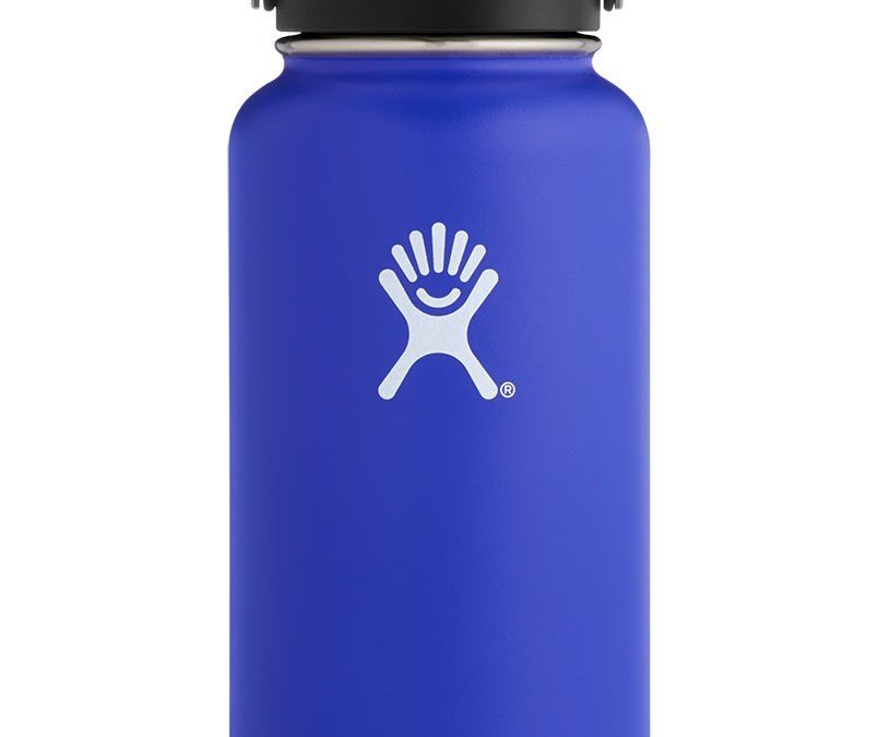 How we ended up with a ridiculously fancy water bottle for the beach
