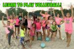 Fun volleyball training
