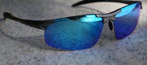 Duco Men's Sports UV Sunglasses