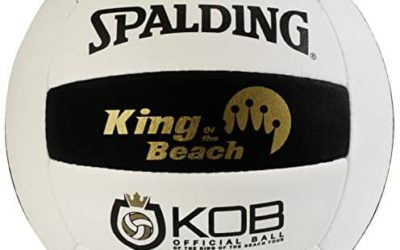 Being King of the Beach with the KOB Spalding Volleyball.