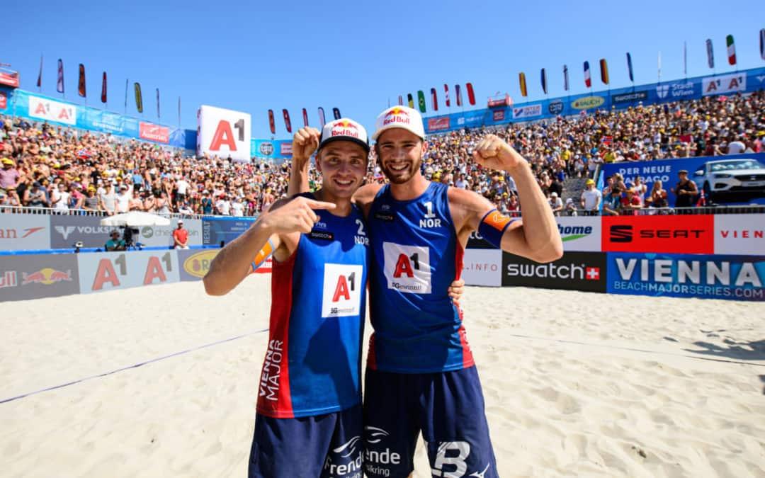 Norwegians untouchable in Vienna – Canadian world champs defy Brazil