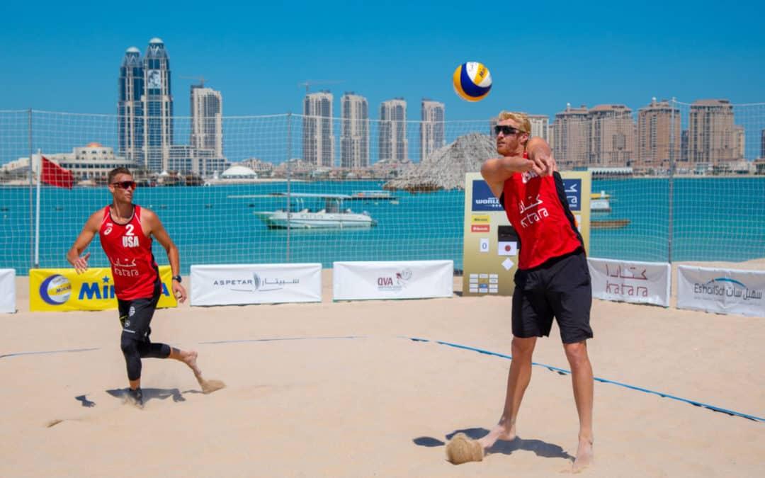 Beach Volleyball World Championships in Qatar?