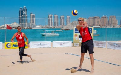 Beach Volleyball World Championships in Qatar?