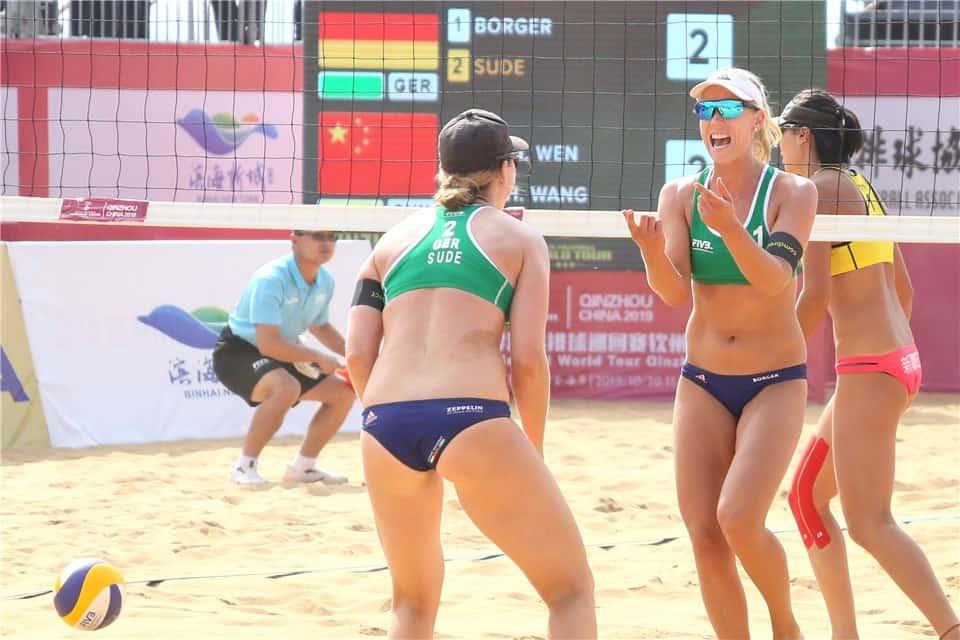 Germany's Borger/Sude claim Qinzhou title against Walsh/Sweat