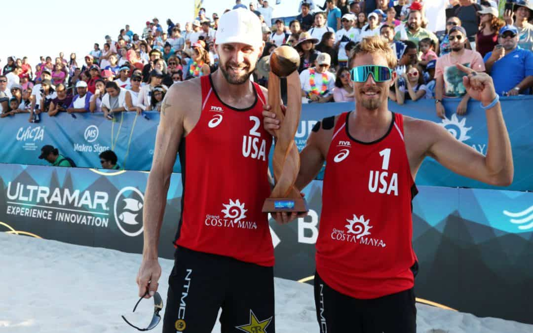 Jake Gibb and Taylor Crabb win their first FIVB gold