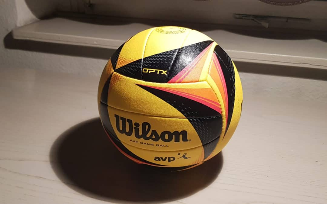 New decade, new game ball: Wilson AVP Optx beach volleyball