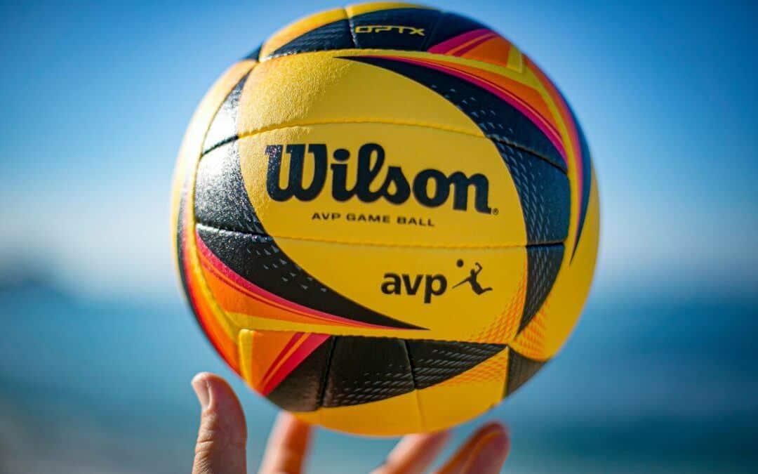 Next level AVP beach volleyball – The Wilson Optx game ball