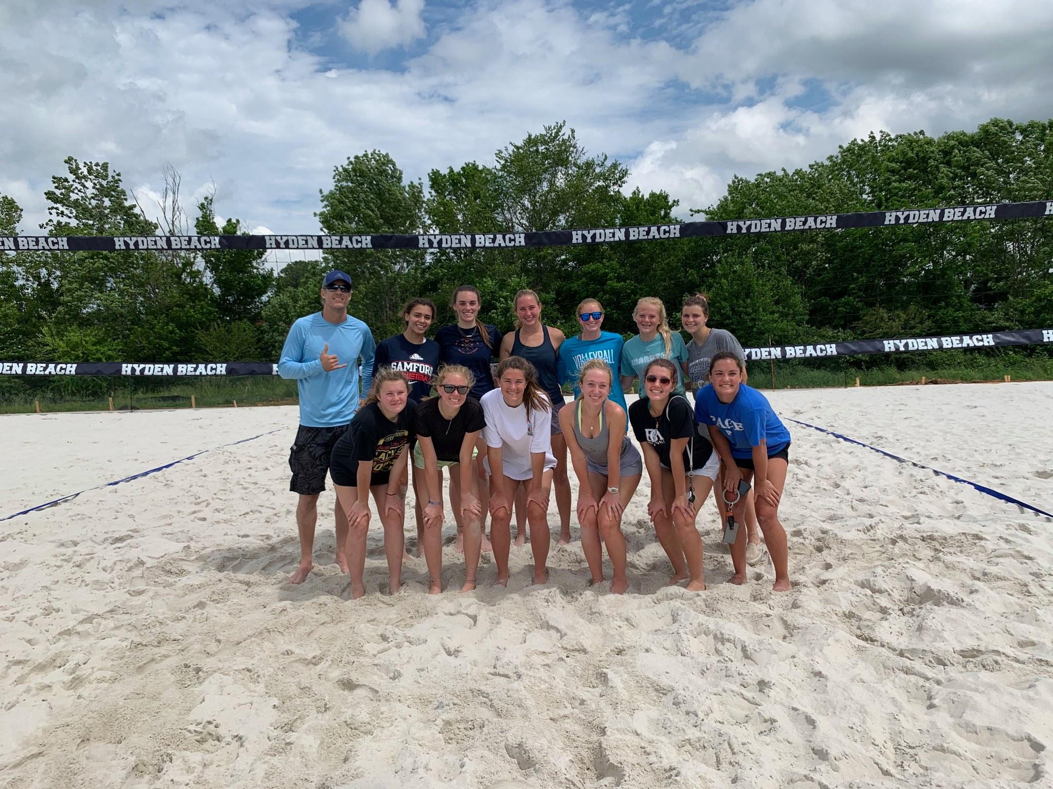 John Hyden beach volleyball