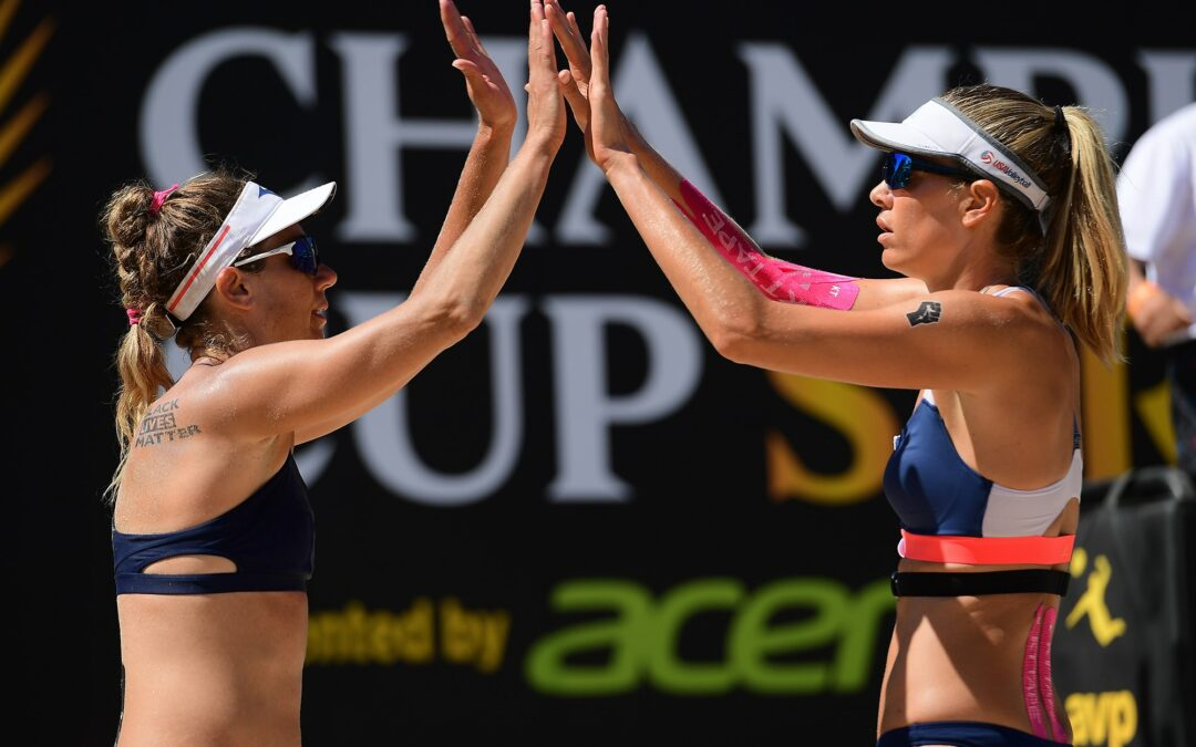 AVP Wilson Cup: Top-seeds on track