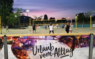 Beach volleyball camps during Covid-19