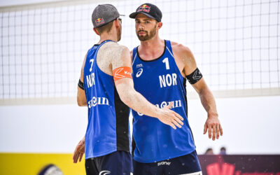 Vikings back in shape at FIVB Cancun 4-star